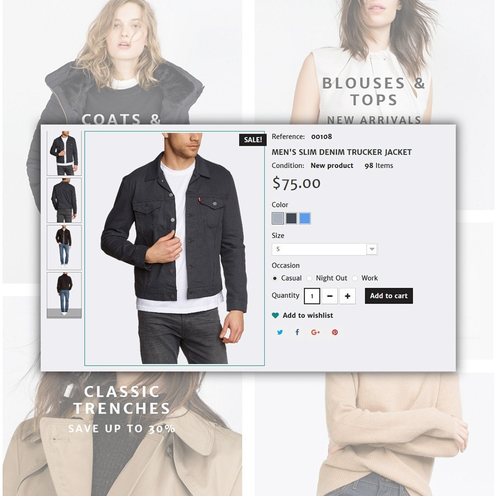 theme - Moda & Calzature - Concept - Apparel Store - 6