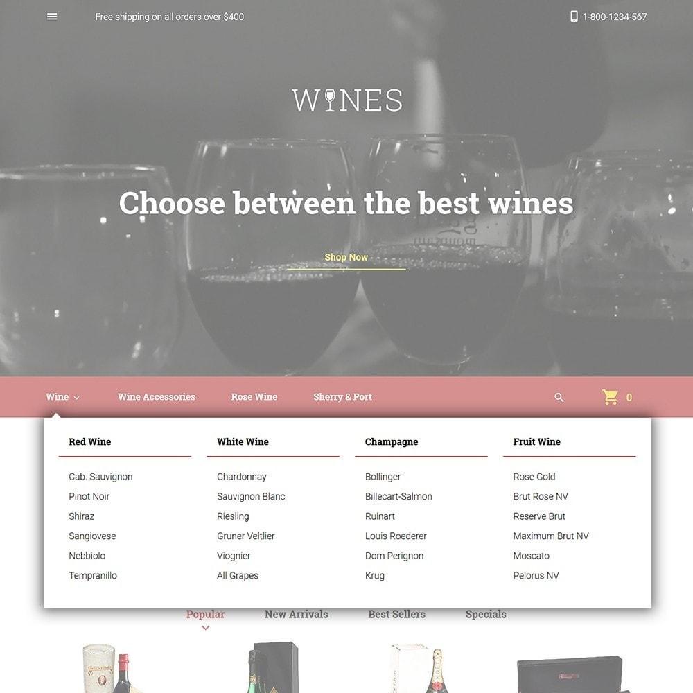 theme - Gastronomía y Restauración - Wines - Wine Store - 4