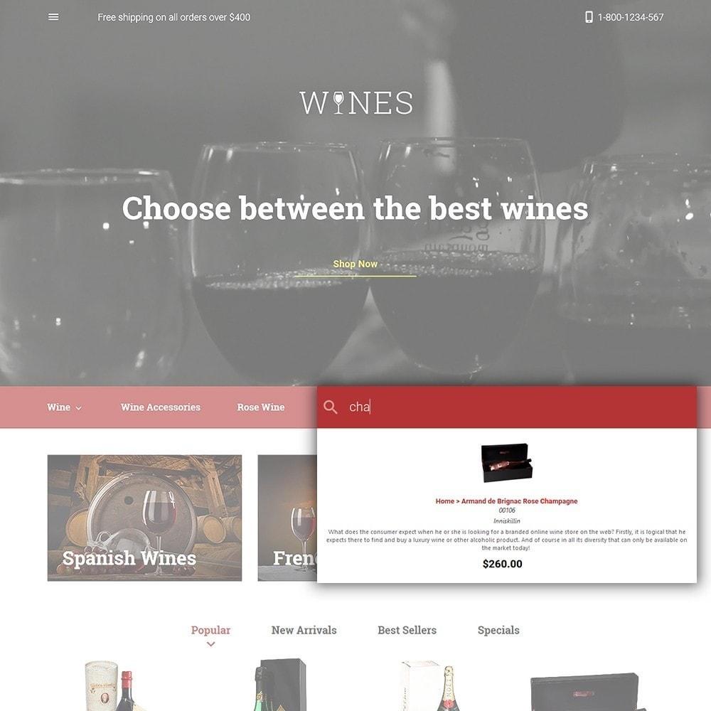 theme - Cibo & Ristorazione - Wines - Wine Store - 6