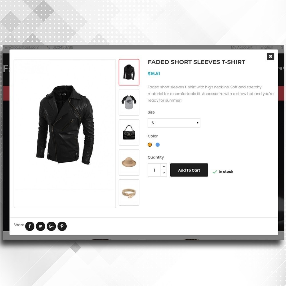 theme - Mode & Schuhe - Fashion Shop -  Fashion Store Template - 7