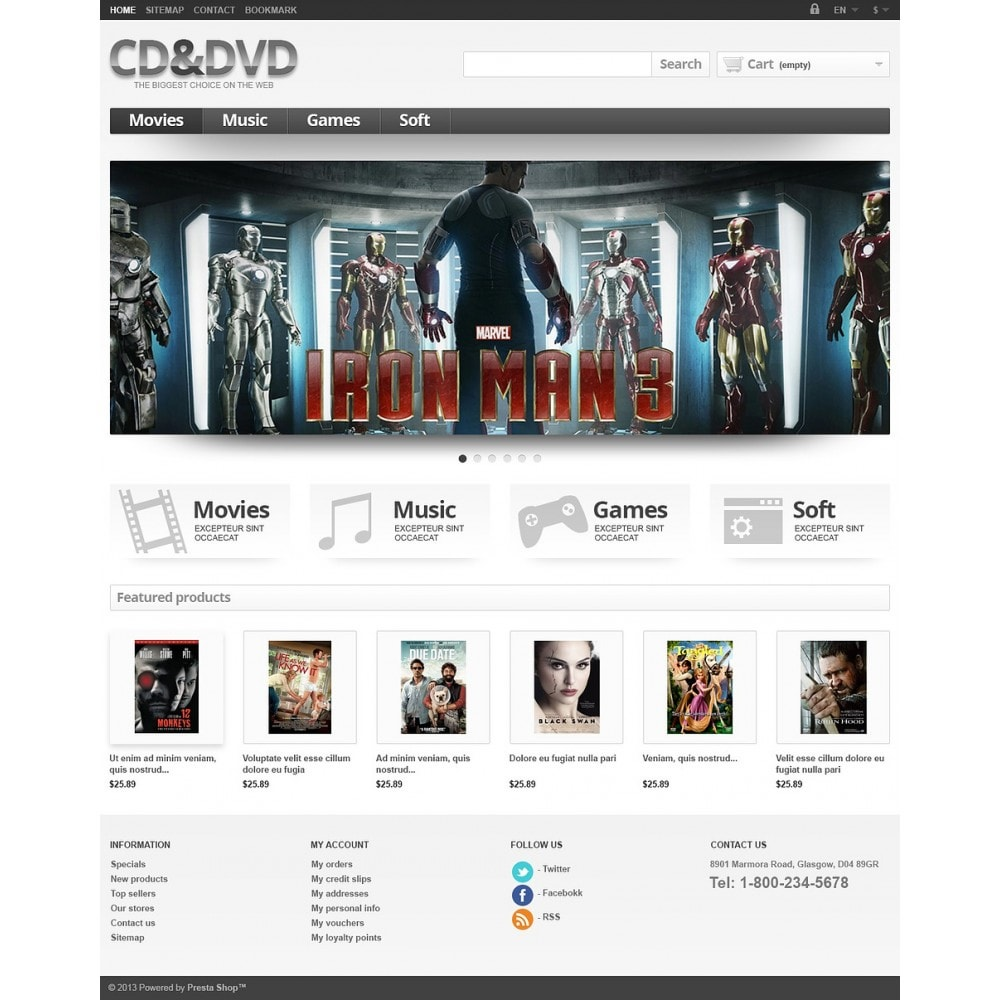 theme - Kids & Toys - Responsive CD & DVD Store - 2