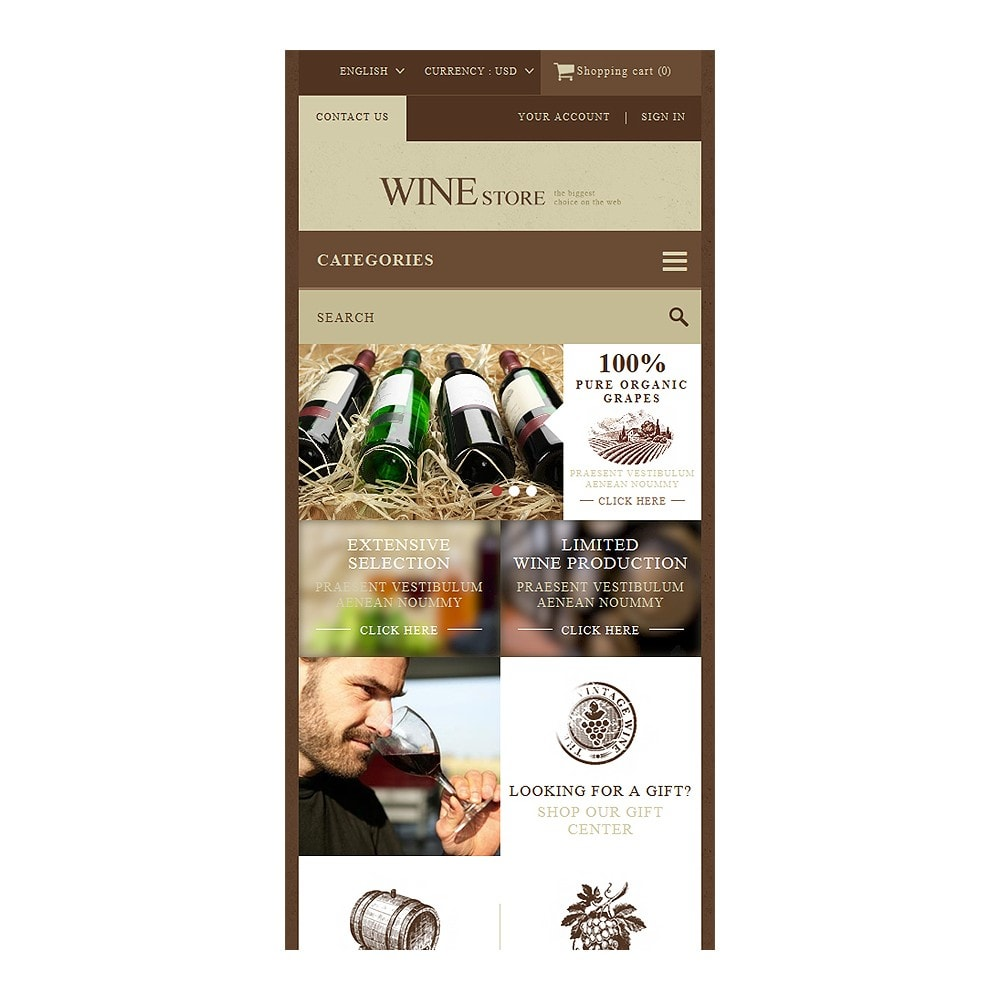 theme - Eten & Restaurant - Wine Store - 8