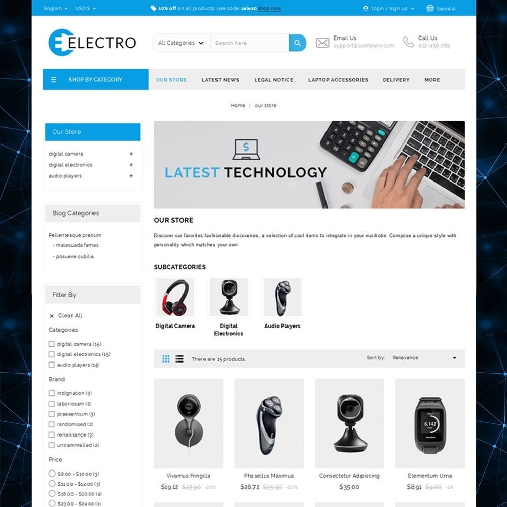 theme - Elektronik & High Tech - Electro - The Electronic Store - 2