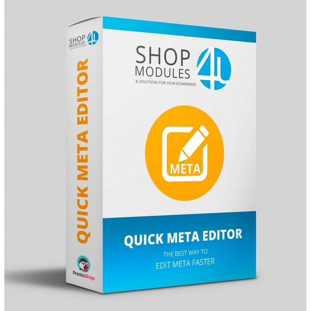 module - Естественная поисковая оптимизация - Quick Meta Editor - 1