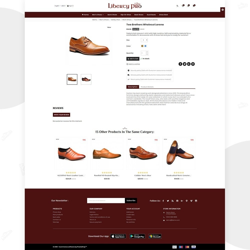 theme - Mode & Schoenen - Liberty – Formal Shoes Store - 5