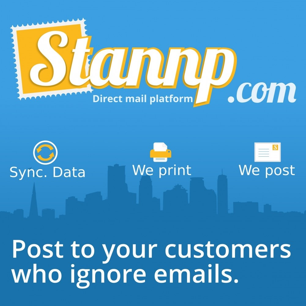 module - Emails & Notificaties - Stannp Syncroniser - 1