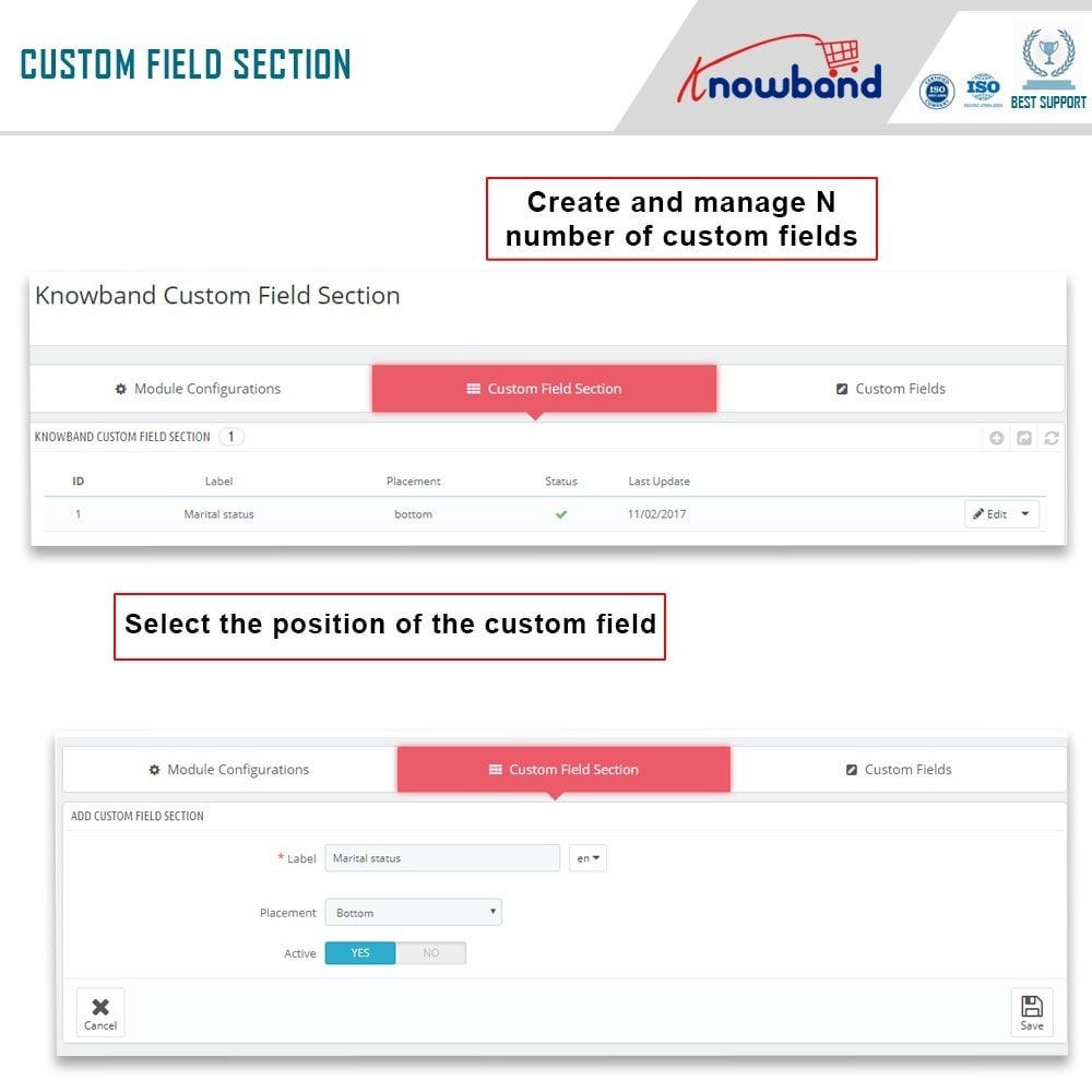 module - Registration & Ordering Process - Knowband - Custom Field Registration - 4