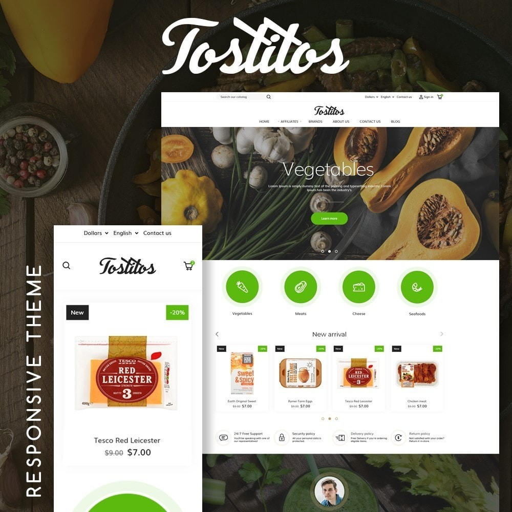 theme - Alimentation & Restauration - Tostitos - 1