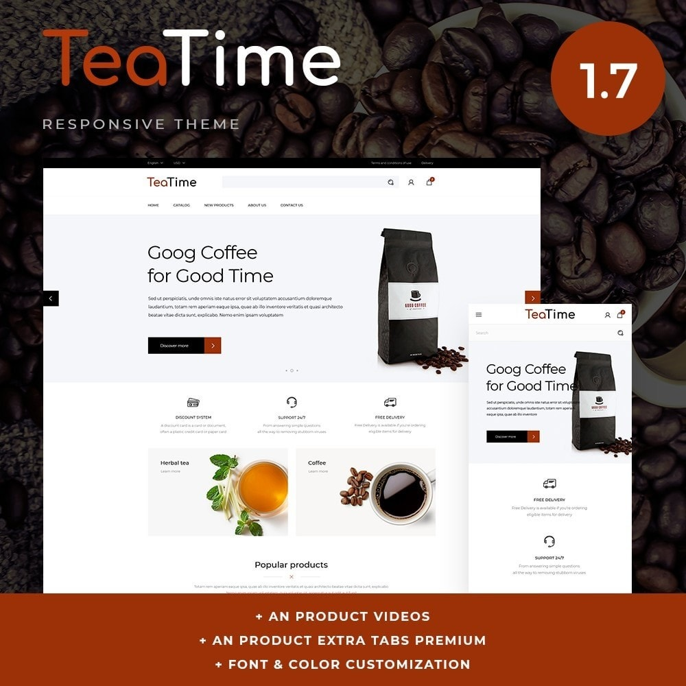 theme - Lebensmittel & Restaurants - TeaTime - 1
