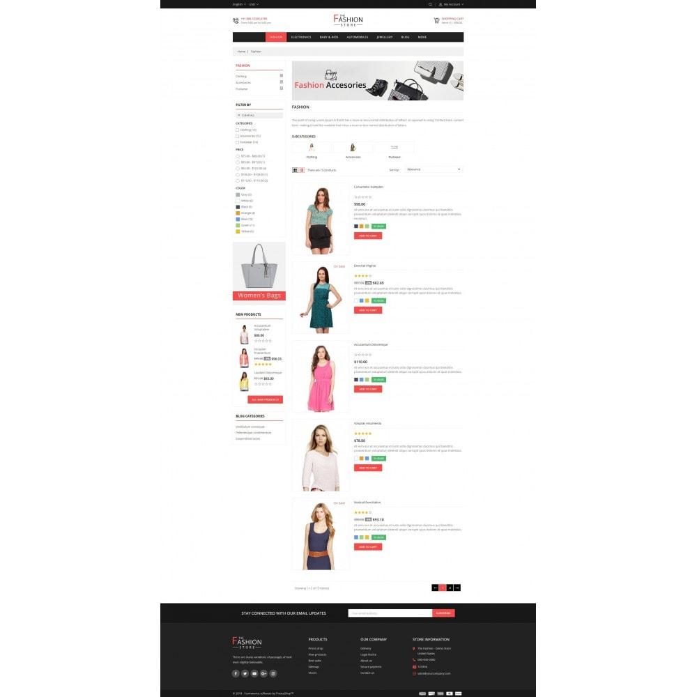 theme - Fashion & Shoes - The Fashion Store - 4