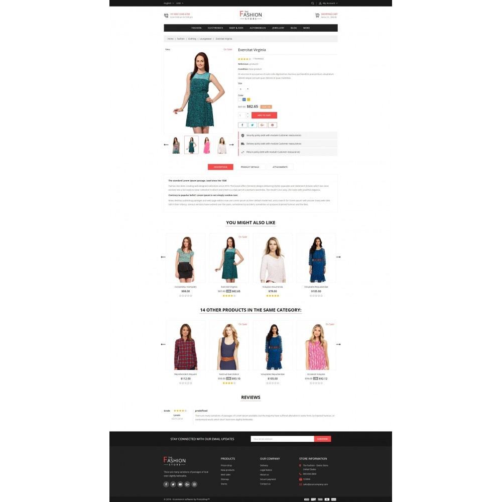 theme - Fashion & Shoes - The Fashion Store - 5