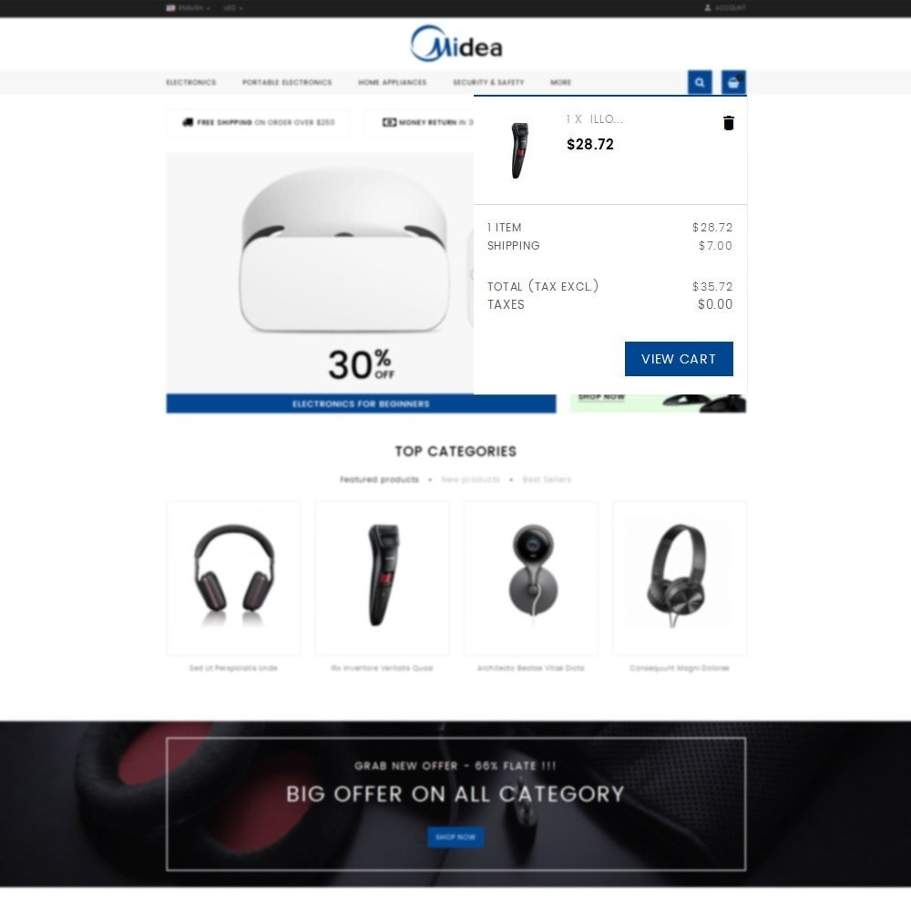 theme - Elektronika & High Tech - Midea - electronics Store - 8