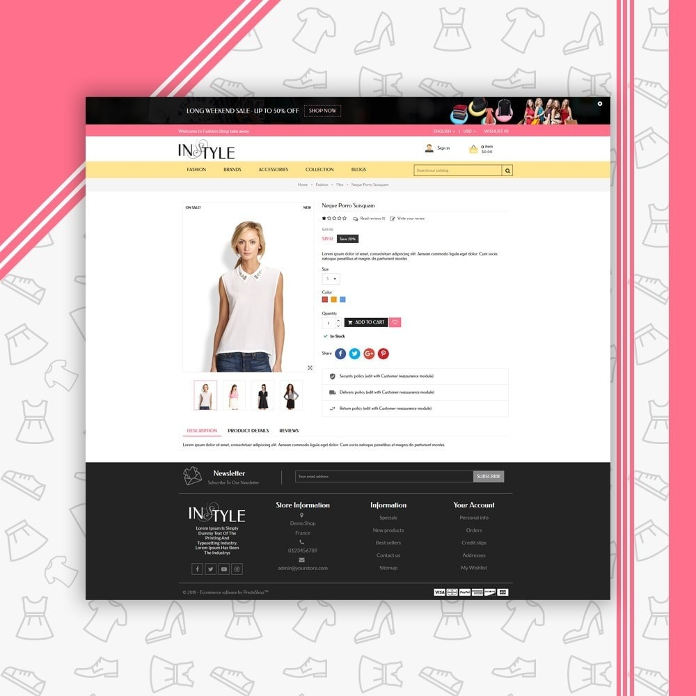 theme - Moda & Obuwie - InStyle Fashion Shop - 4
