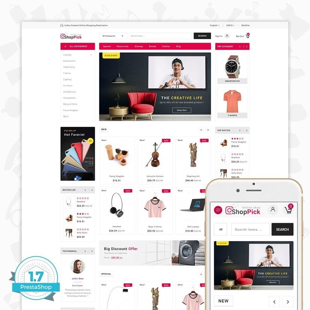 theme - Electrónica e High Tech - Shoppick - The Online Shop - 1