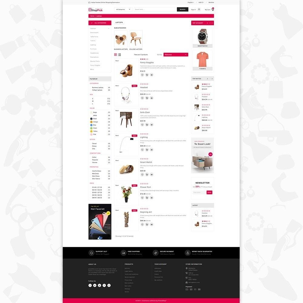 theme - Electrónica e High Tech - Shoppick - The Online Shop - 4