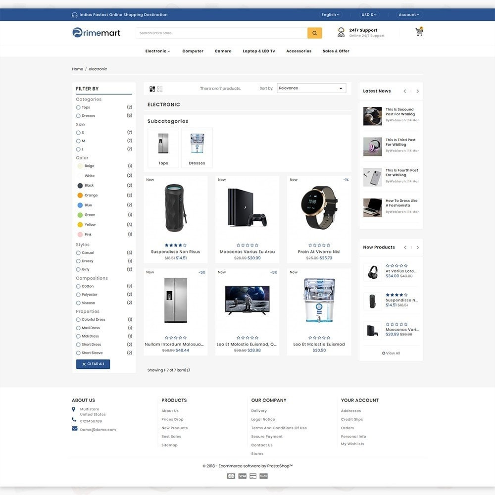 theme - Elektronik & High Tech - PrimeMart - The Mega Ecommerce Store - 3