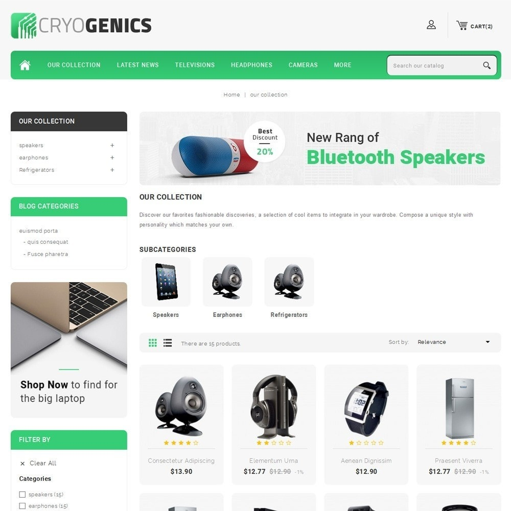 theme - Elektronika & High Tech - Cryogenics - The Electronics Store - 4