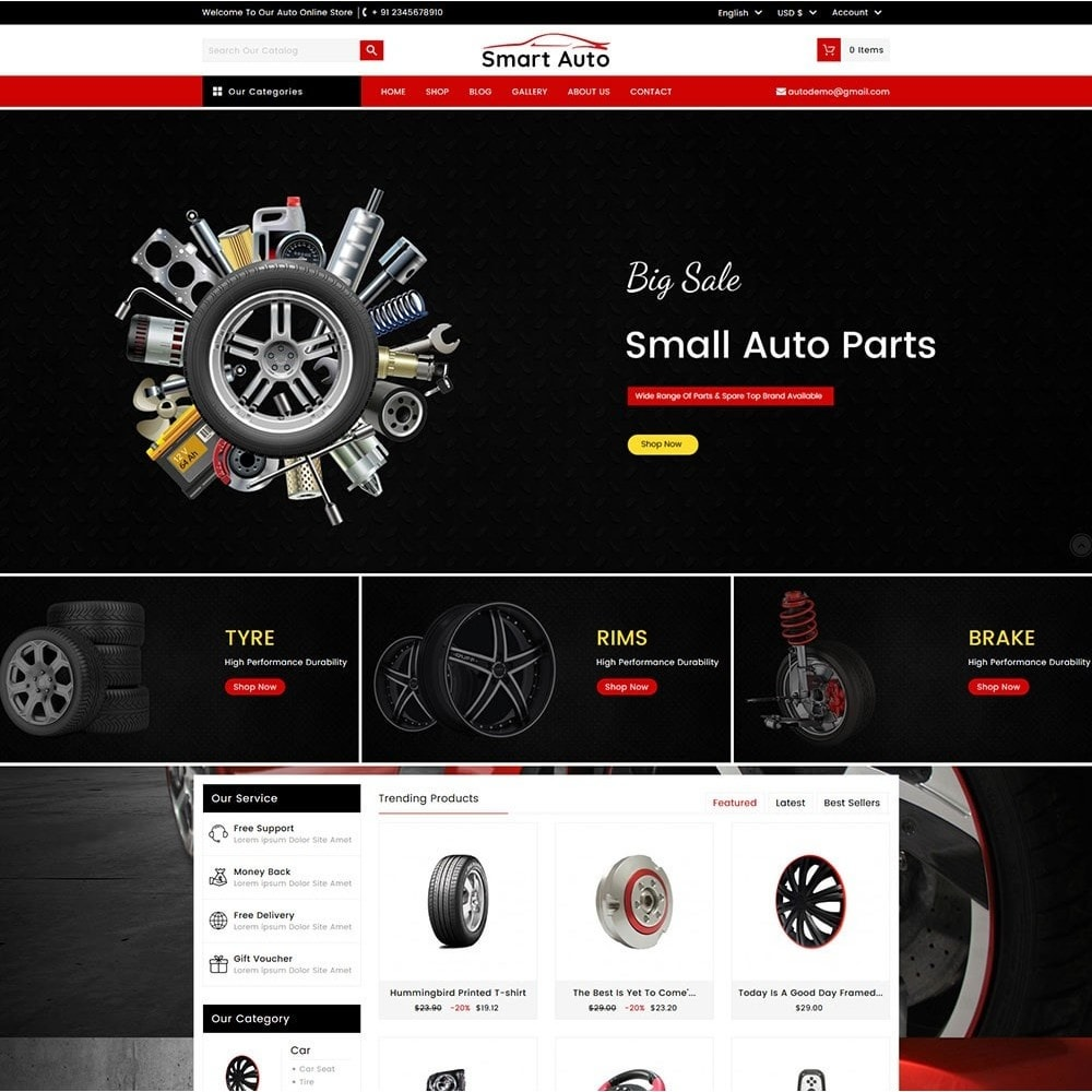 theme - Carros & Motos - Smart Auto - 2