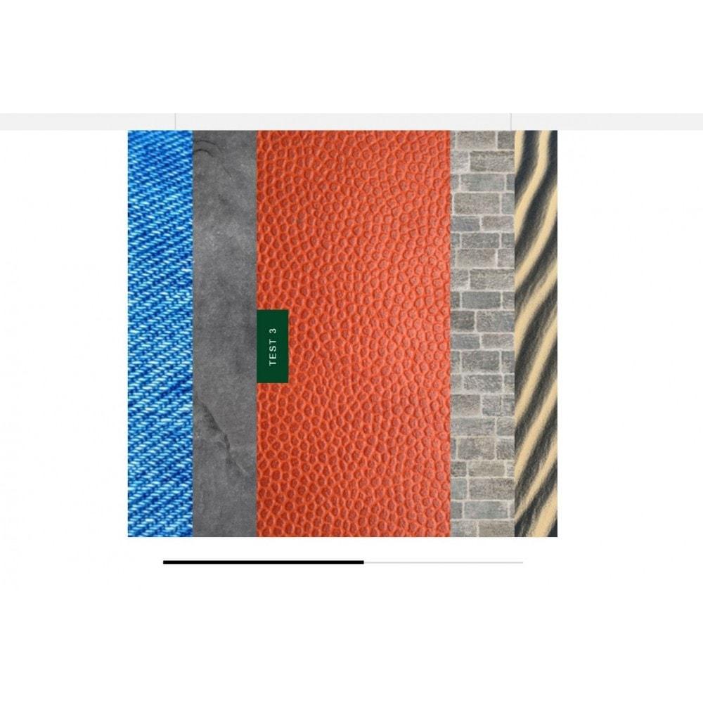 module - Silder & Gallerien - Textures Carousel - 2