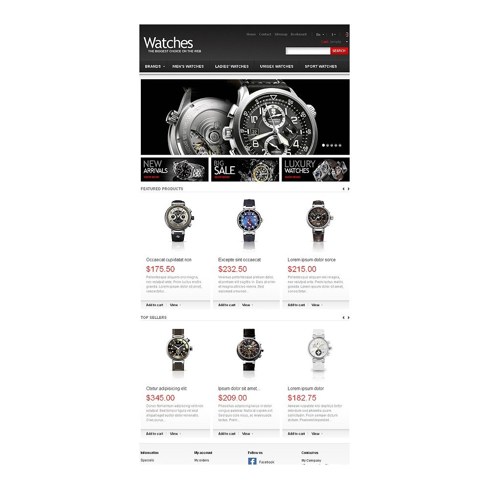 theme - Fashion & Shoes - Wrist Watch Store - 8