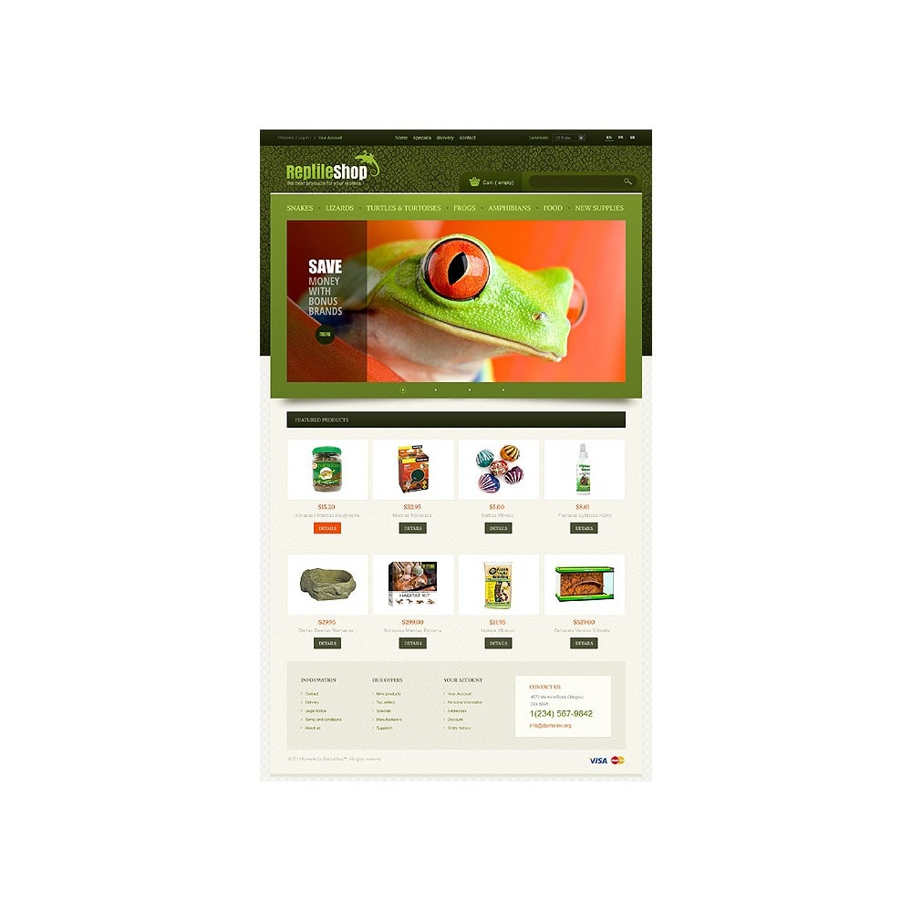theme - Animaux - Reptile Shop - 1