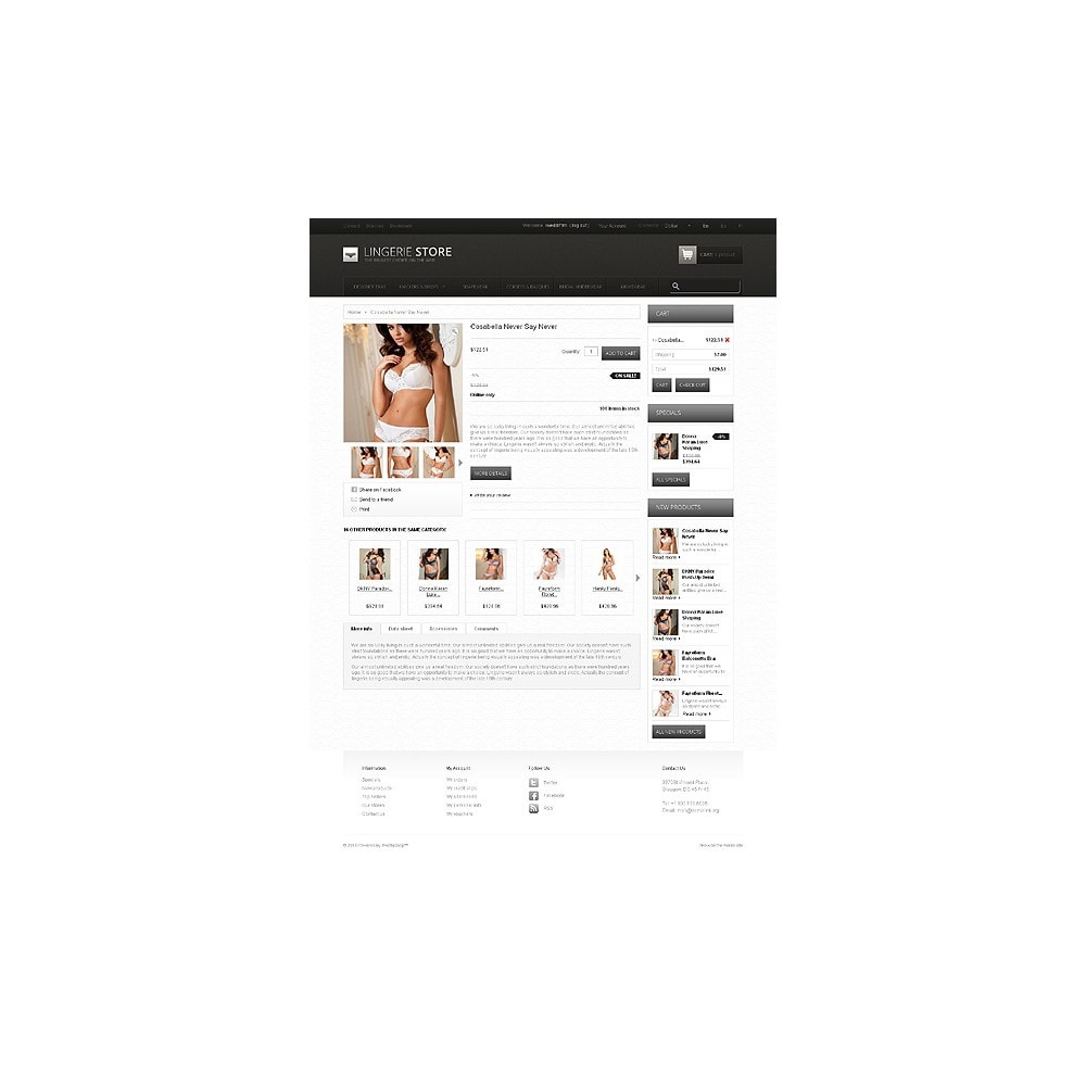 theme - Moda y Calzado - Lingerie Store - 6