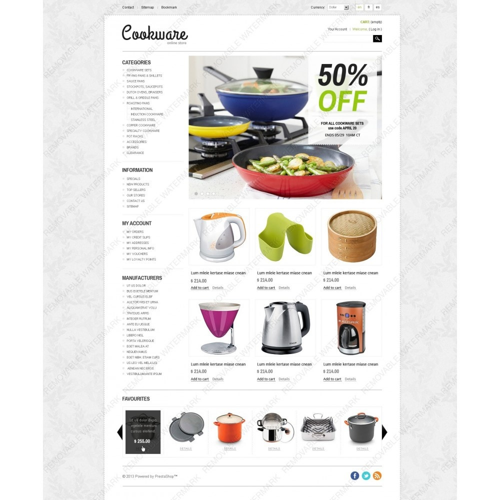 theme - Kunst & Cultuur - Cookware - 7