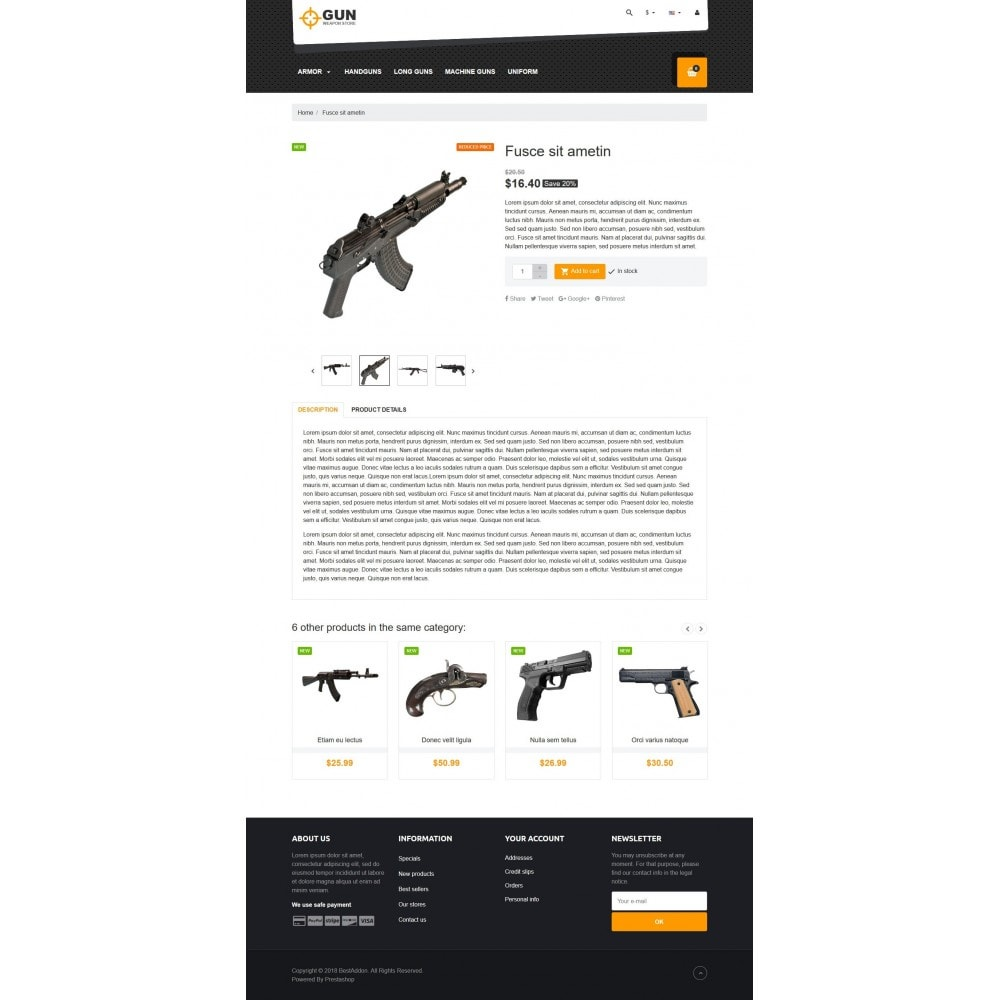 theme - Kultura & Sztuka - VP_Gun Store - 4