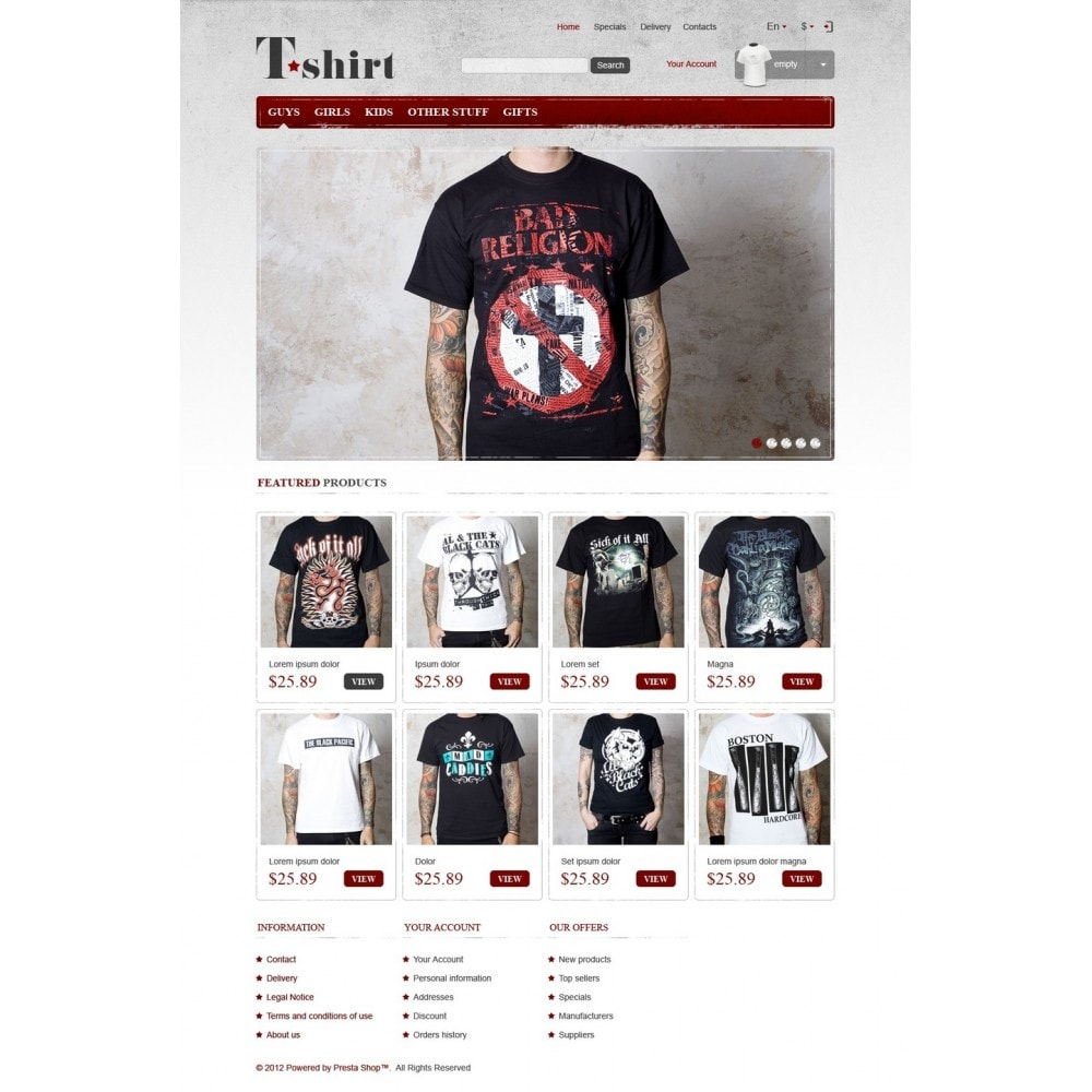 theme - Mode & Schoenen - Star T-Shirts Store - 5
