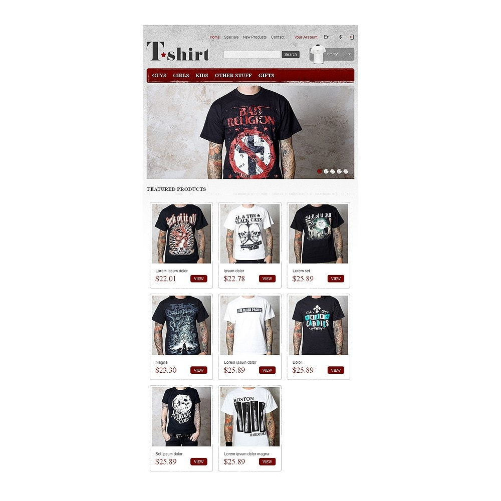 theme - Mode & Schoenen - Star T-Shirts Store - 8