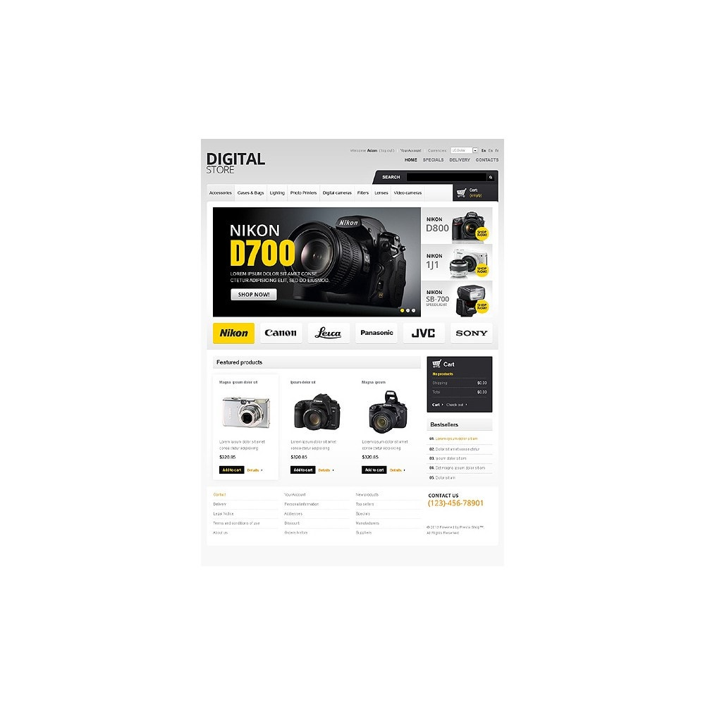 theme - Elektronika & High Tech - Digital Store - 1