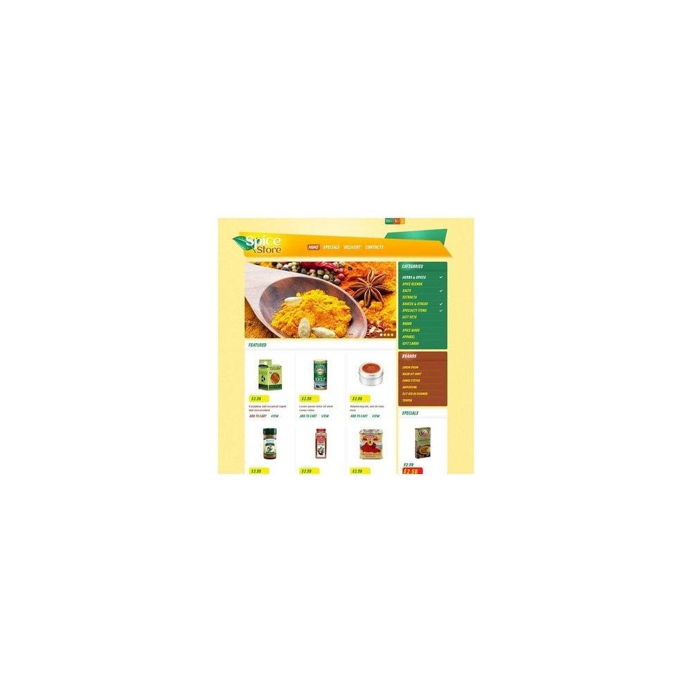 theme - Food & Restaurant - Responsive Spice Store - 2