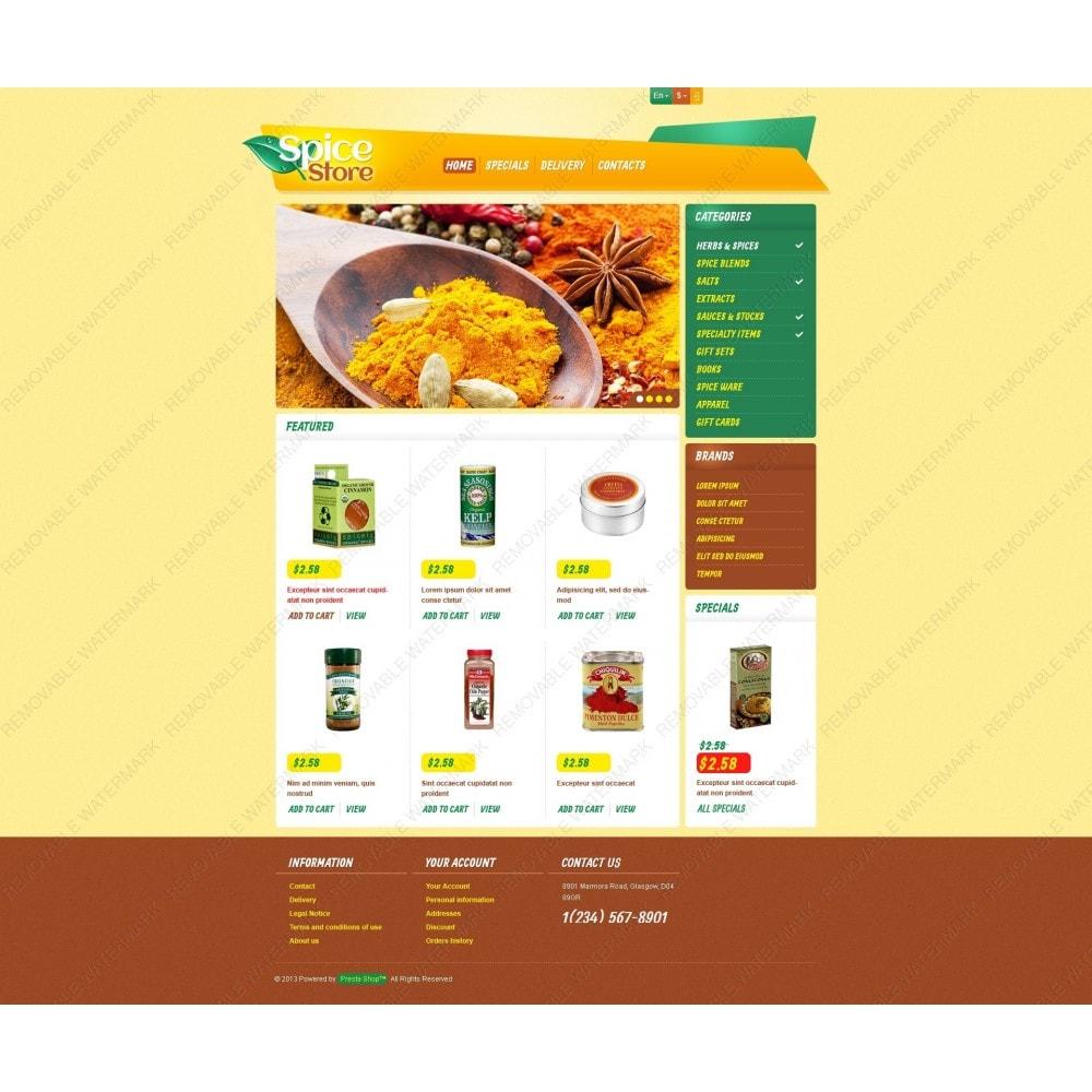 theme - Cibo & Ristorazione - Responsive Spice Store - 6