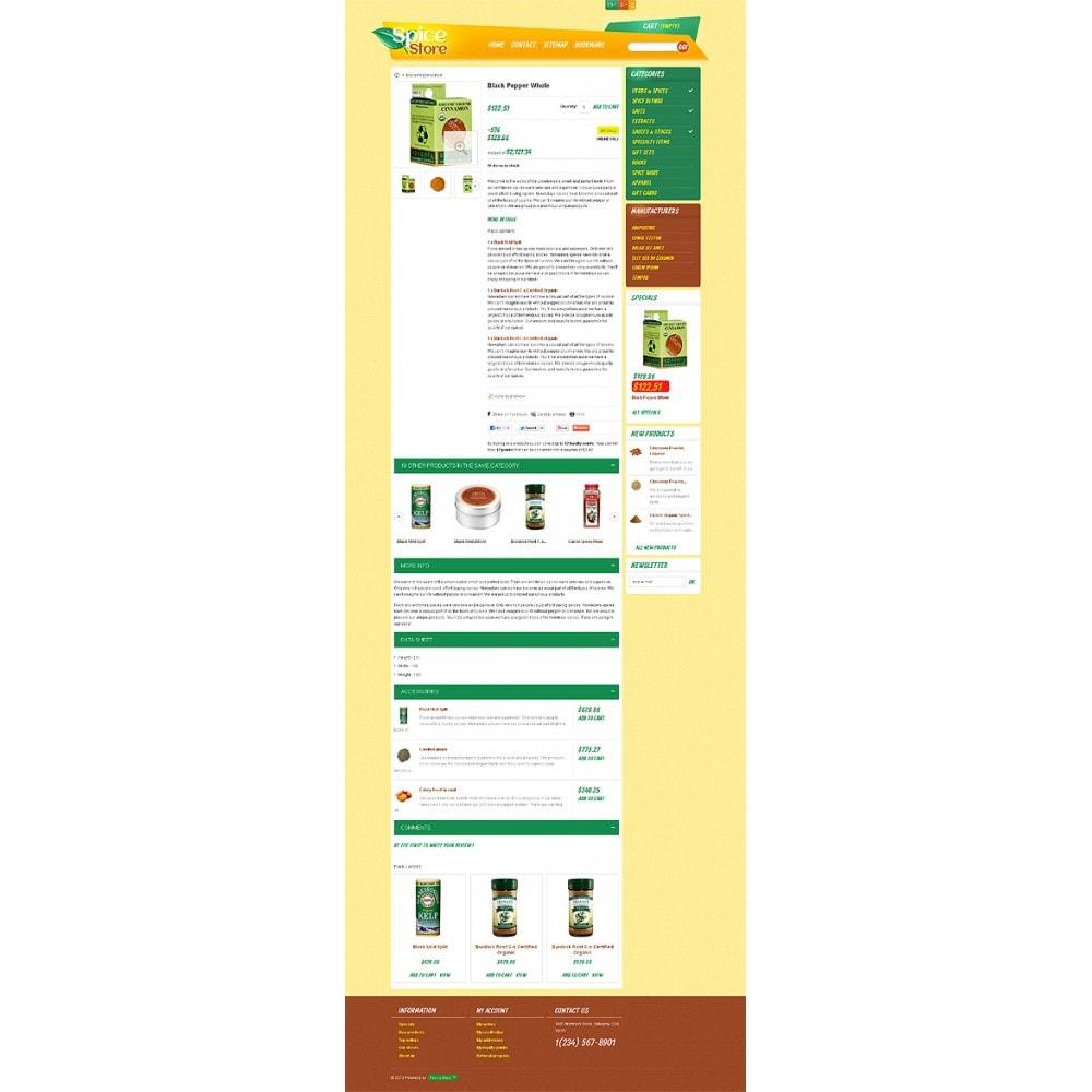 theme - Food & Restaurant - Responsive Spice Store - 7