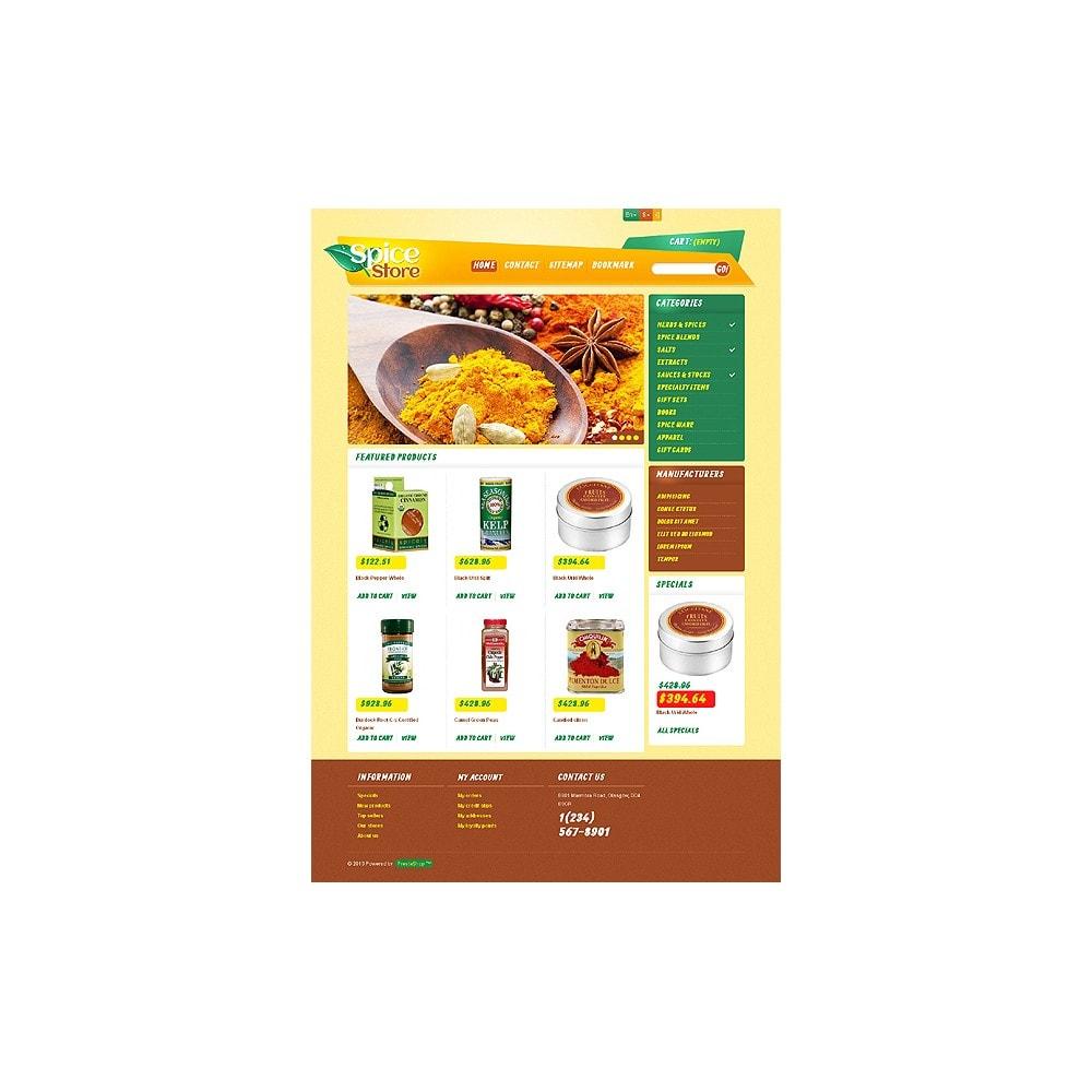 theme - Food & Restaurant - Responsive Spice Store - 8
