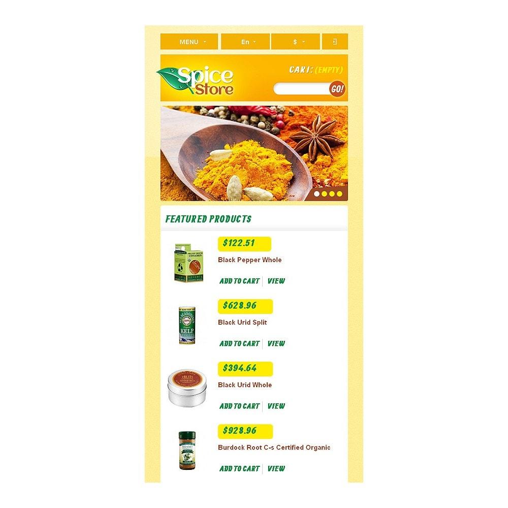 theme - Food & Restaurant - Responsive Spice Store - 9