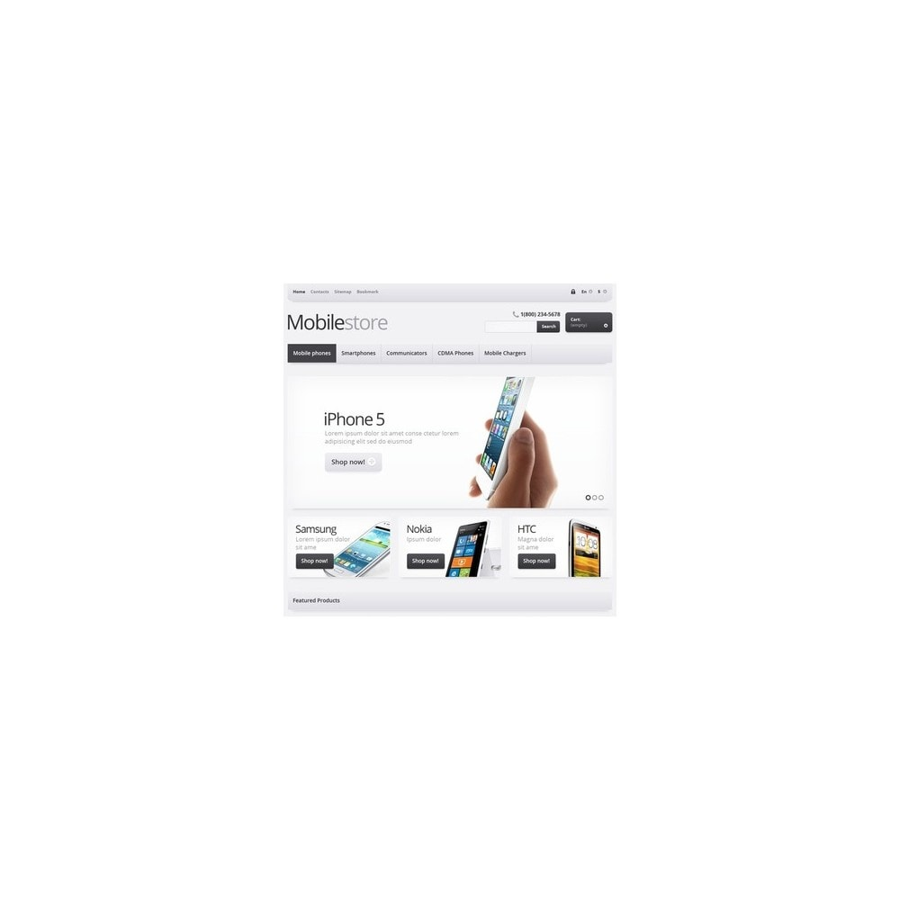 theme - Electrónica e High Tech - Responsive Mobile Store - 3