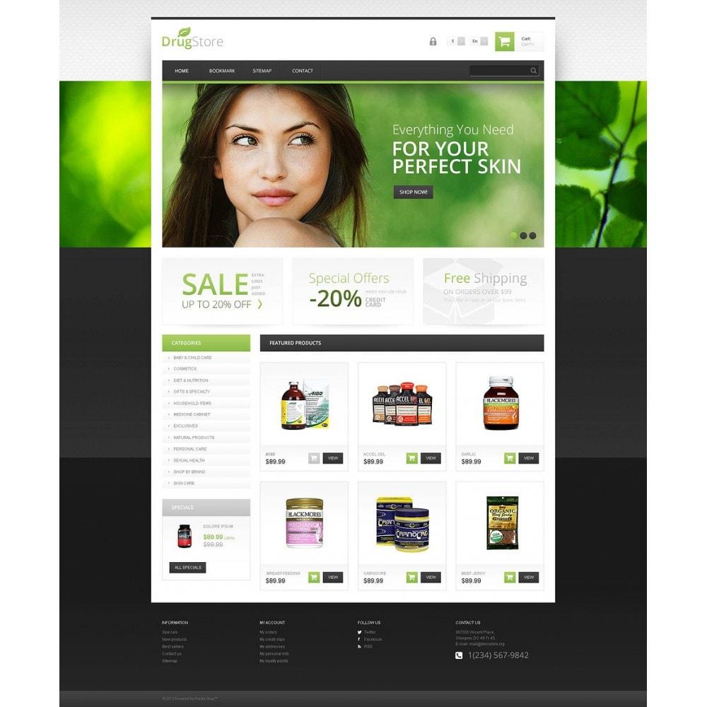 theme - Health & Beauty - Responsive Drugstore - 2