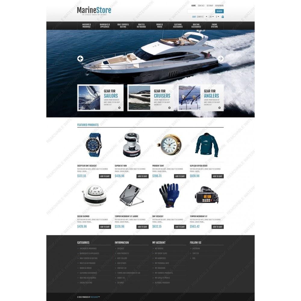 theme - Sport, Rozrywka & Podróże - Responsive Marine Store - 5