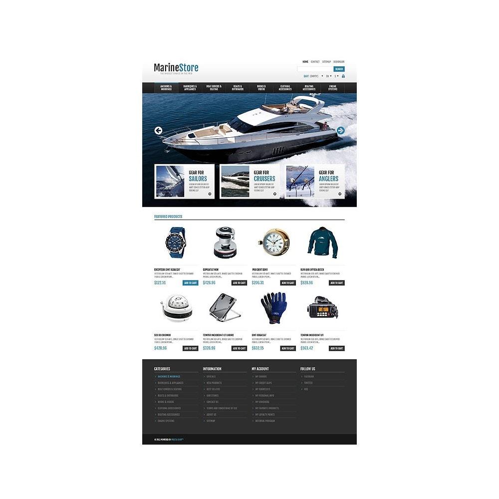 theme - Sport, Rozrywka & Podróże - Responsive Marine Store - 10