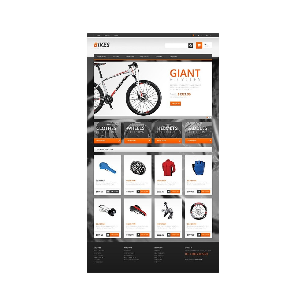 theme - Sports, Activities & Travel - Responsive Bikes Store - 10