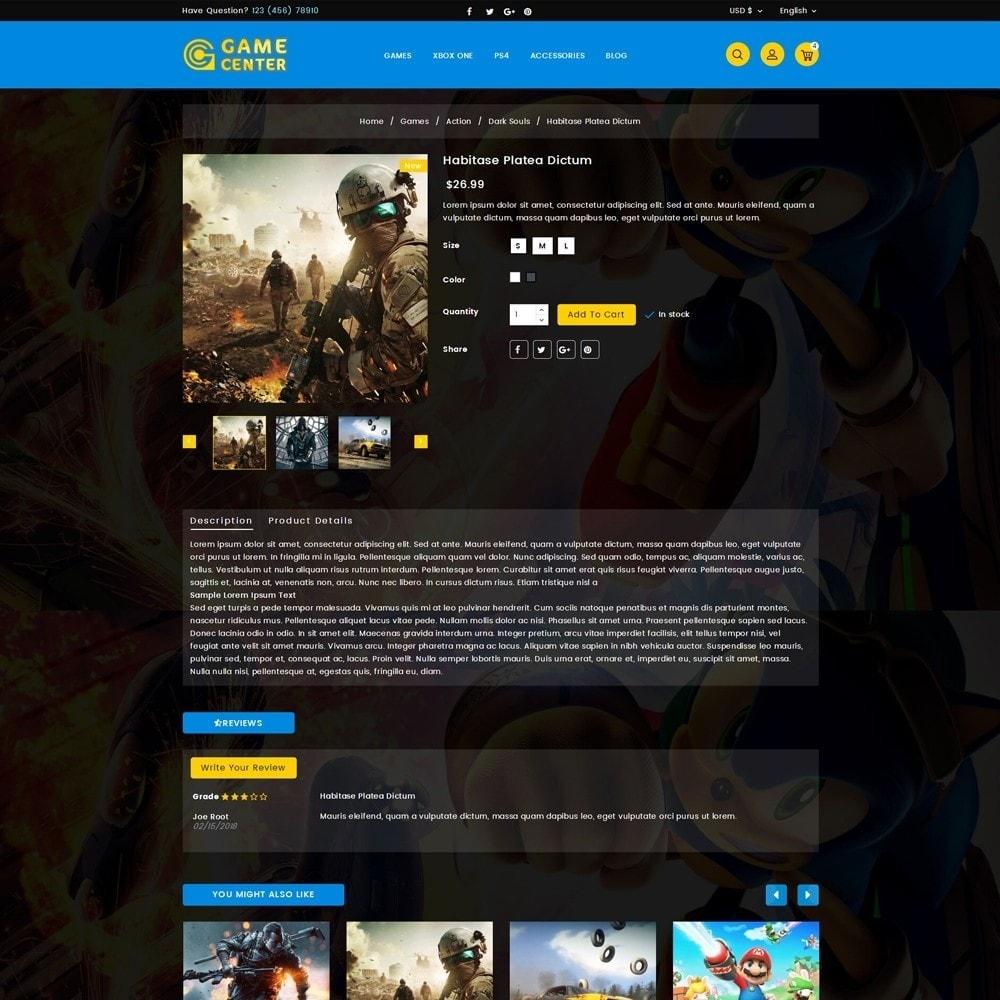 theme - Sport, Aktivitäten & Reise - Game center Online Store - 5