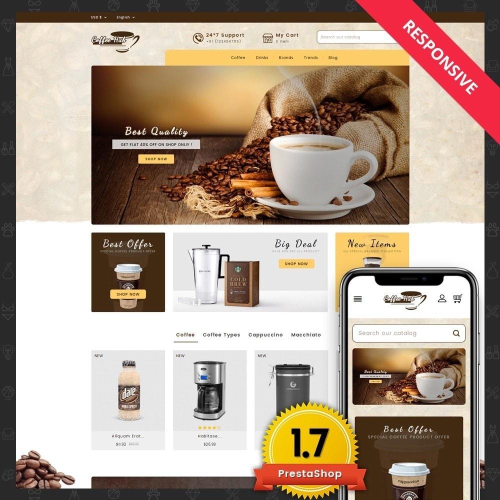 theme - Bebidas y Tabaco - Coffeehub Online Store - 1