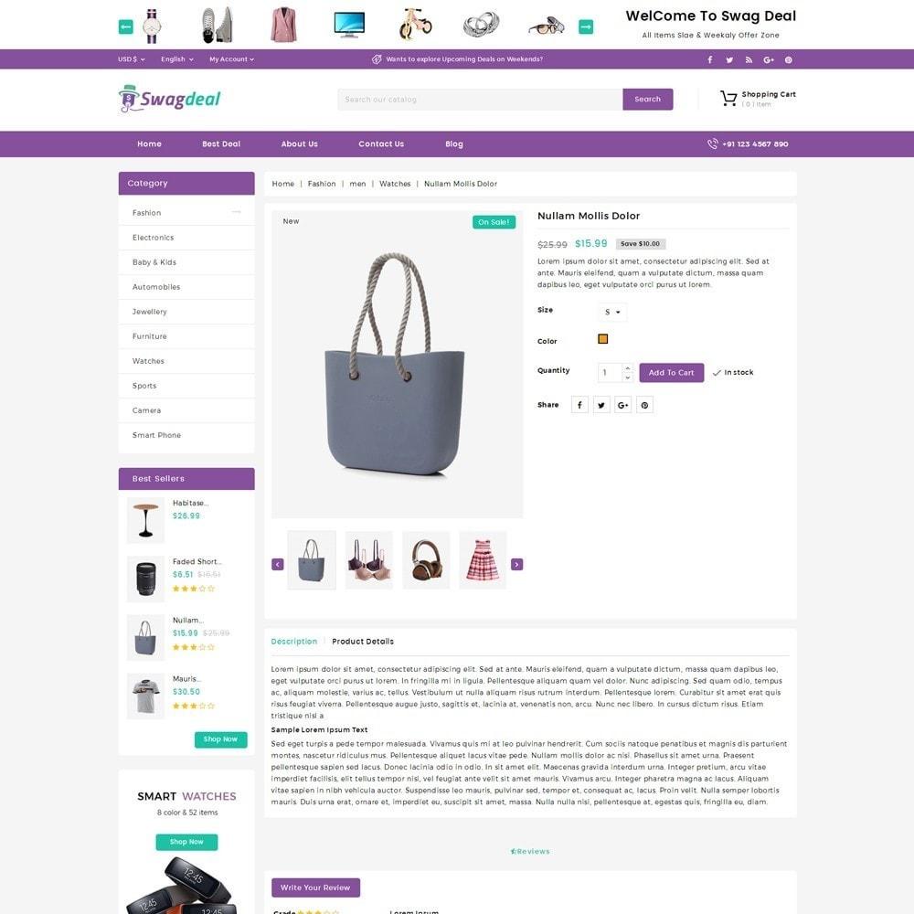 theme - Moda & Calçados - Swagdeal Mega Store - 4