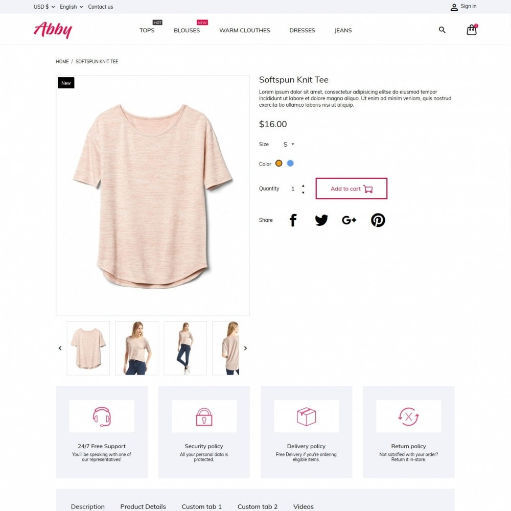 theme - Moda & Calzature - Abby Fashion Store - 6