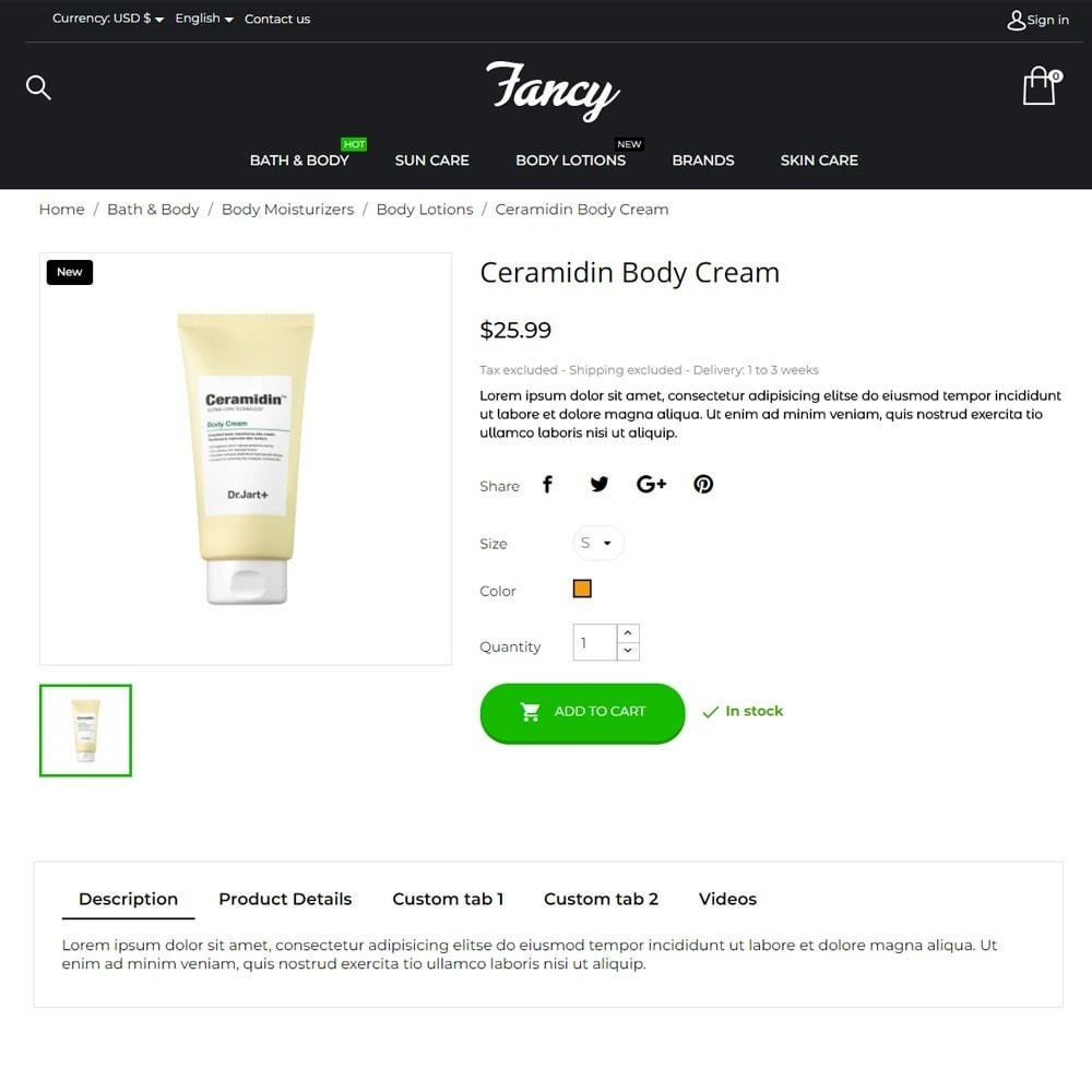 theme - Health & Beauty - Fancy Cosmetics - 6