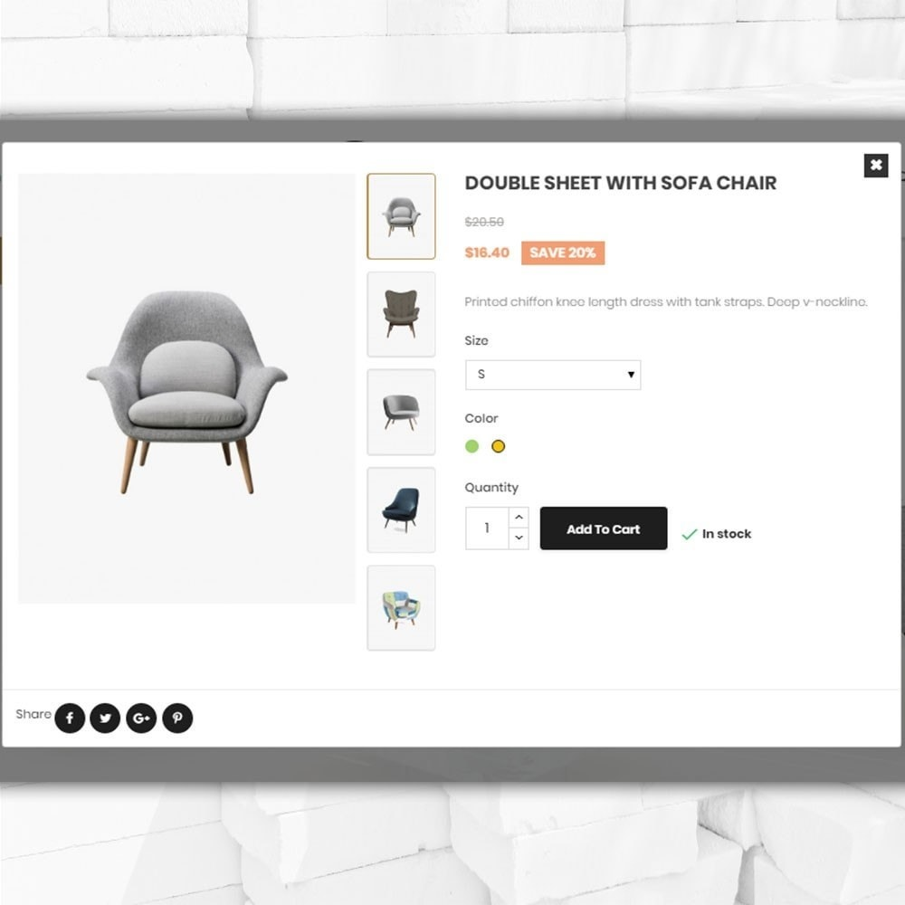 theme - Home & Garden - Furniture shop - Furniture and home decor store - 6
