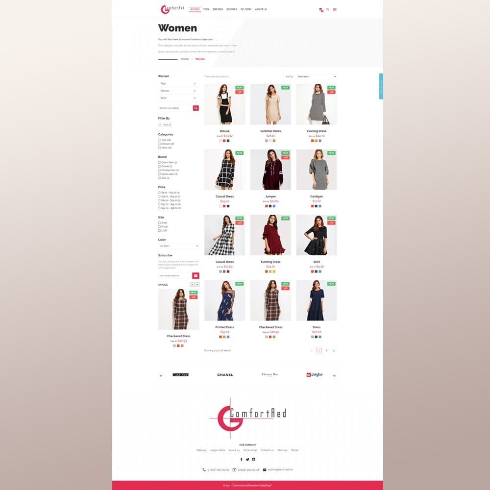 theme - Moda & Calzature - ComfortRed Style Clothes Store - 5