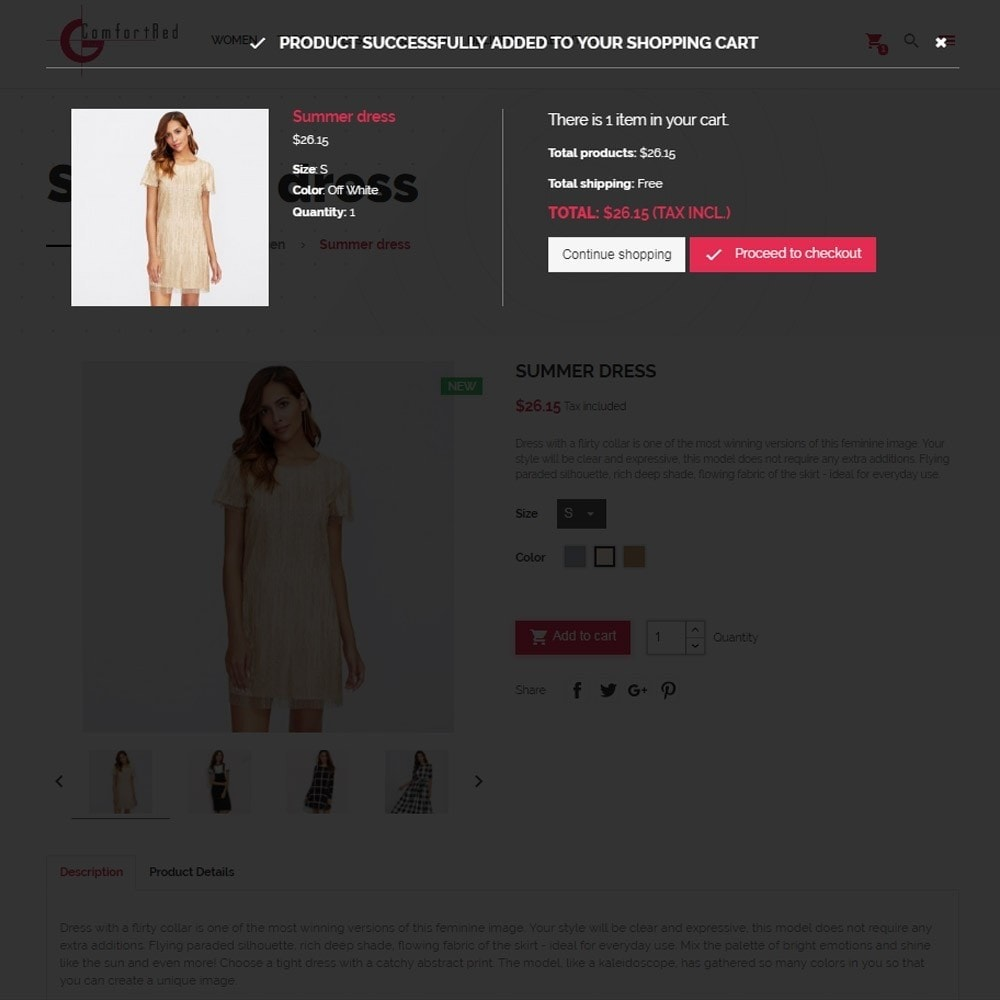 theme - Moda & Calzature - ComfortRed Style Clothes Store - 8