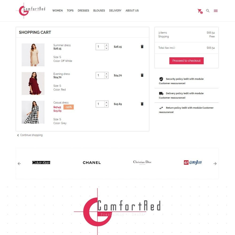 theme - Moda & Calzature - ComfortRed Style Clothes Store - 9